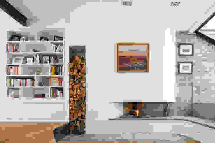 Homerton Modern living room by Scenario Architecture Modern