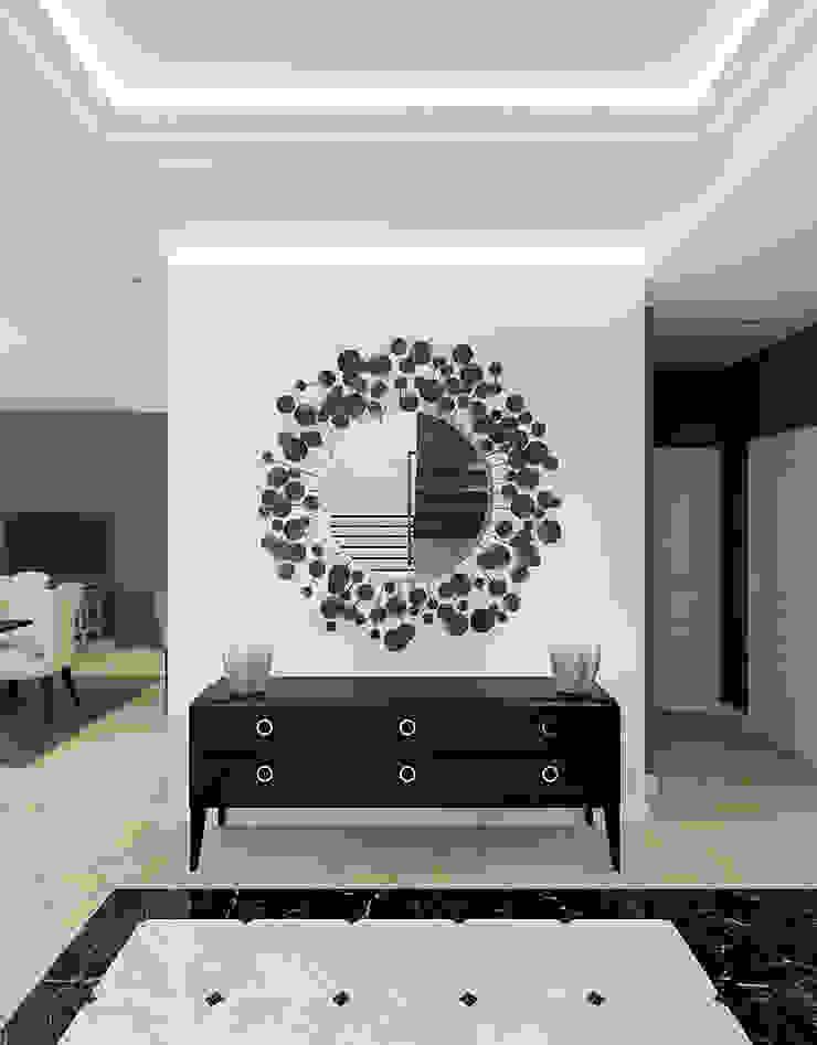 Лион Коридор, прихожая и лестница в классическом стиле от Level Классический