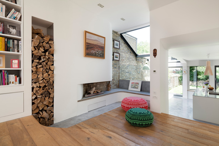 Homerton Ruang Keluarga Modern Oleh Scenario Architecture Modern