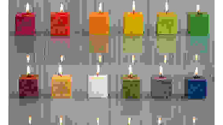min cube kaars: modern  door Glaswinkeltje/ DesignGlasOnline, Modern