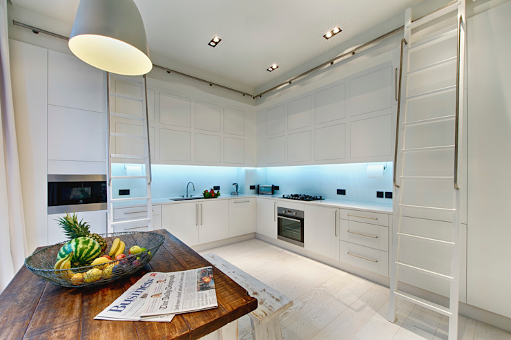 Covent Garden Penthouse Adventure In Architecture Modern kitchen