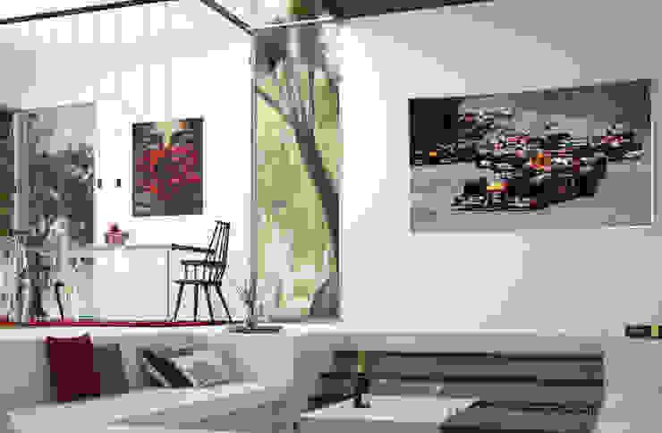 Interiorismo en Urbanización El Bosque. Comedores de estilo moderno de Ideas Interiorismo Exclusivo, SLU Moderno
