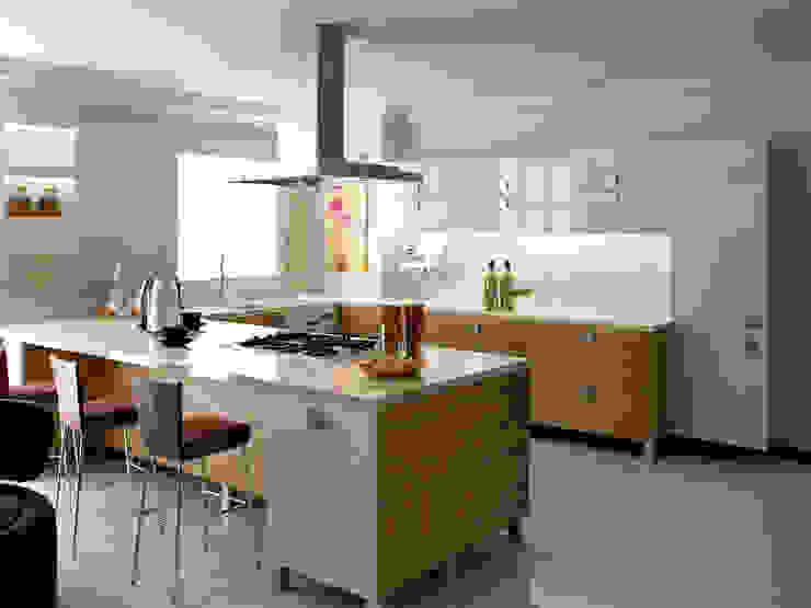 levent tekin iç mimarlık CucinaArmadietti & Scaffali