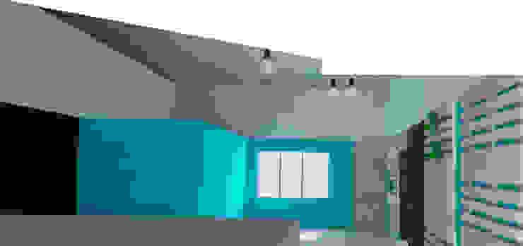 Propuesta interiorismo Cafetería Gastronomía de estilo industrial de ARQit estudio Industrial