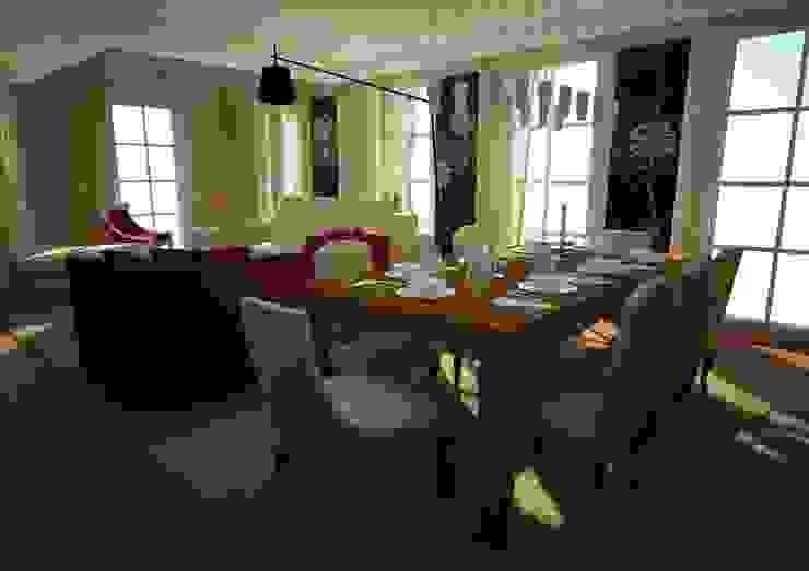 RÖNESANS KONUTLARI levent tekin iç mimarlık Yemek OdasıAksesuarlar & Dekorasyon