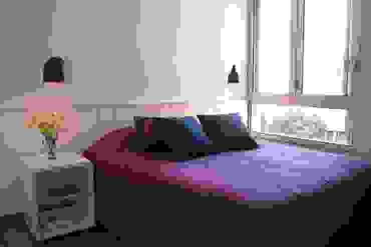 Apartamento Visconde da Luz Quartos modernos por Rachel Nakata Arquitetura Moderno