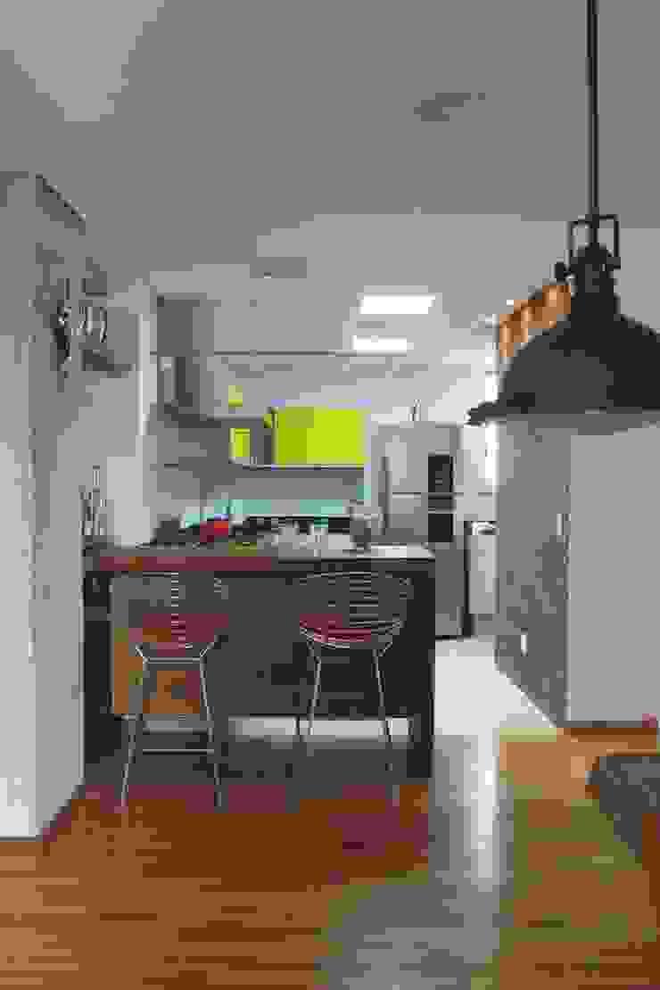 Apartamento Visconde da Luz Cozinhas modernas por Rachel Nakata Arquitetura Moderno