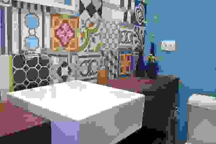 Apartamento Visconde da Luz Casas de banho ecléticas por Rachel Nakata Arquitetura Eclético