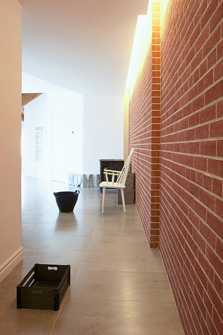 MCV A009 Ingresso, Corridoio & Scale in stile scandinavo di modoo Scandinavo