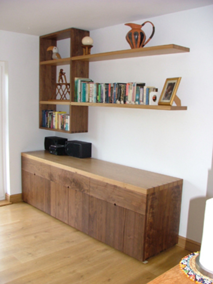 Bespoke Sideboard & Offset Shelving Modern dining room by Future Antiques Modern