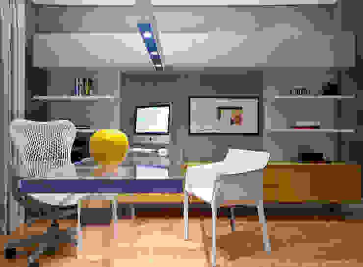 Home Office Escritórios modernos por Marilia Veiga Interiores Moderno
