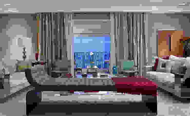 Apartamento Parque Cidade Jardim Salas de estar modernas por Marilia Veiga Interiores Moderno