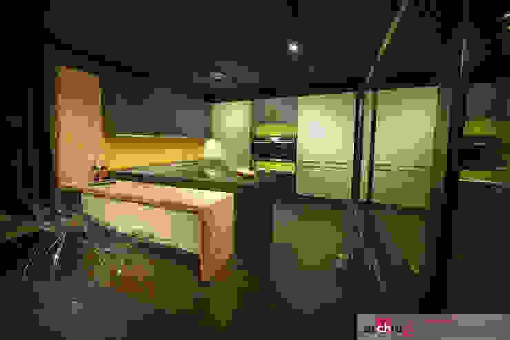 Archidé SA interior design Modern style kitchen