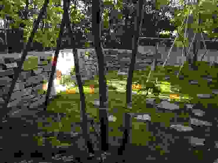 Asiatischer Garten von 山田高志建築設計事務所 Asiatisch