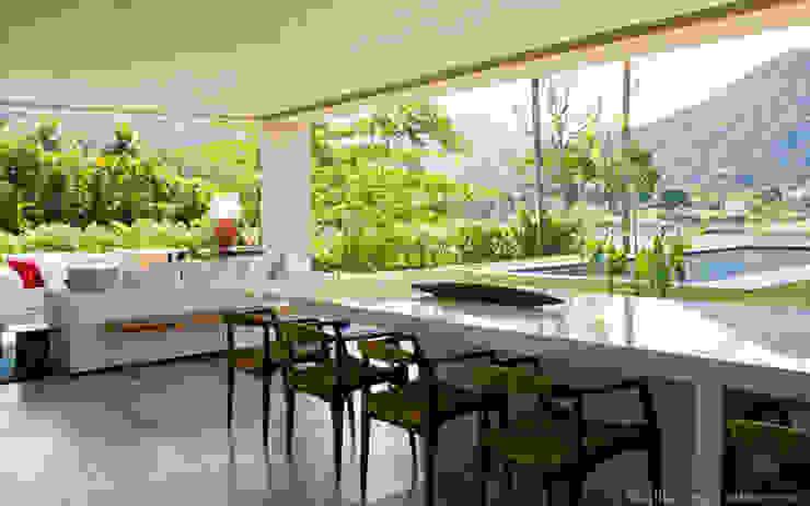 Jantar + Vista Salas de jantar modernas por Marilia Veiga Interiores Moderno