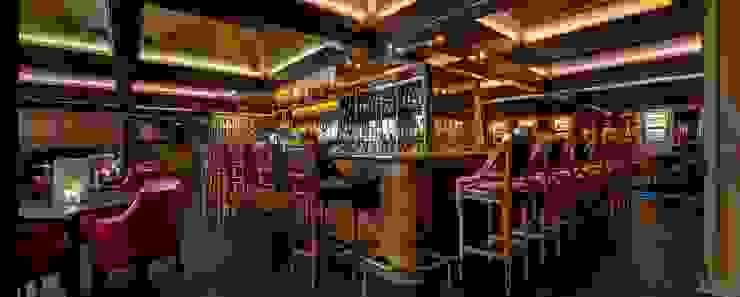 Montreux Jazz Café Fairmont by Aedas Interiors Modern gastronomy by Architecture by Aedas Modern