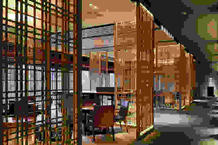 Lobby Loundge モダンなホテル の WORKTECHT CORPORATION モダン