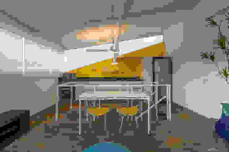 Cozinha com sala integrada | Residência SP Cozinhas modernas por Christiana Marques Fotografia Moderno