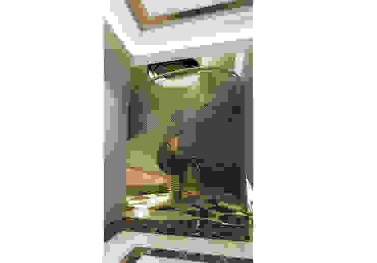 Ayaz Ergin İç Mimarlık 現代風玄關、走廊與階梯