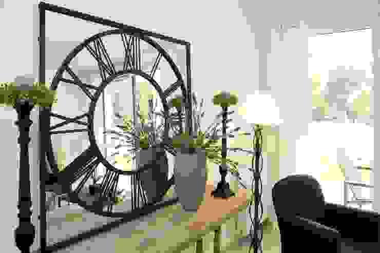 Miroir en fer forgé par Anne Gindre Décoratrice d'Intérieur Moderne