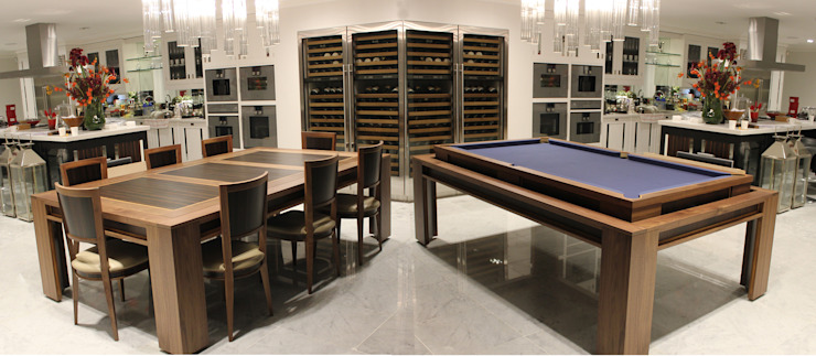 'The Lingfield' Pool/Dining Rollover Table Designer Billiards KitchenTables & chairs
