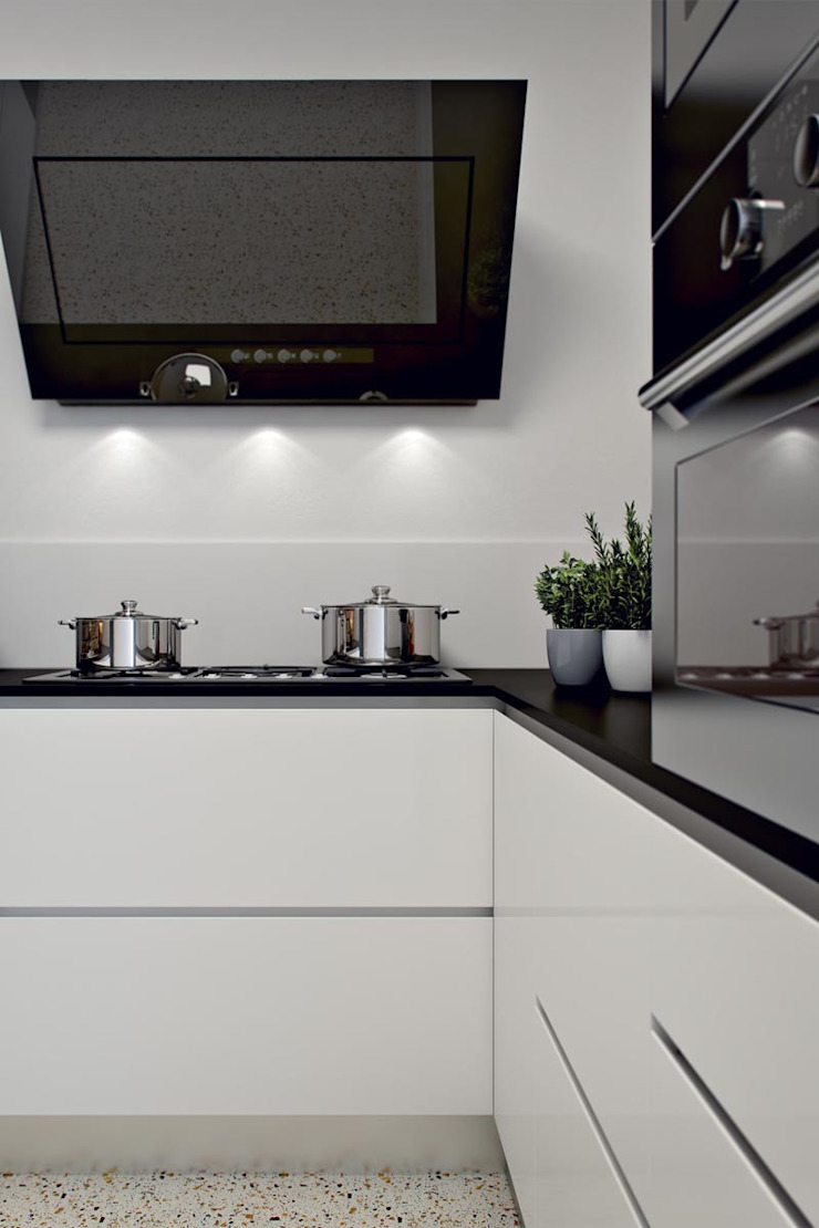 Cucina moderna Cucina moderna di 3BT Moderno