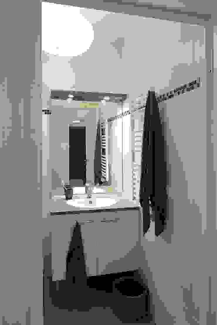 Salle de bain Salle de bain moderne par Anne Gindre Décoratrice d'Intérieur Moderne
