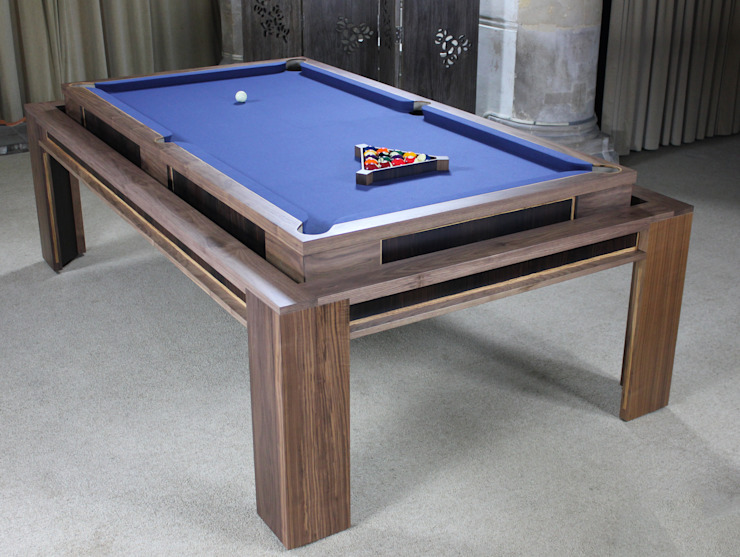 'The Lingfield' Pool/Dining Rollover Table Designer Billiards Dining roomTables