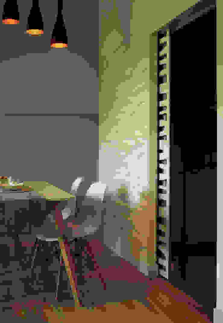 Wykonawstwo apartamentu Nowoczesny salon od Vizu & Elektronag Nowoczesny