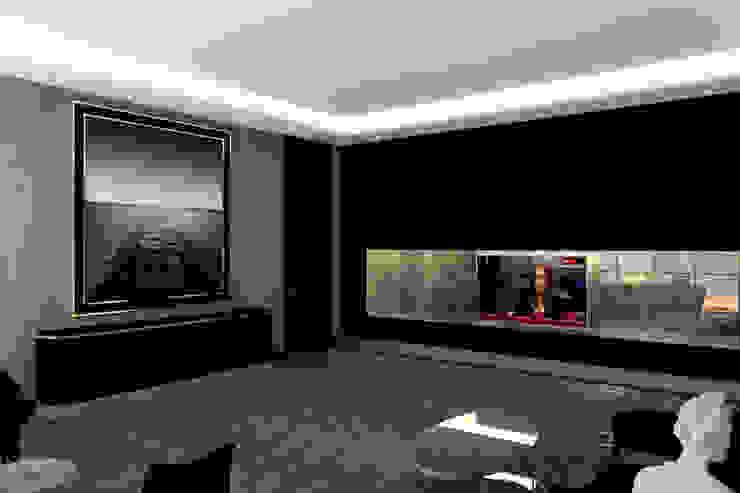 GOKCEN TEXTİLE Inan AYDOGAN /IA Interior Design Office Modern