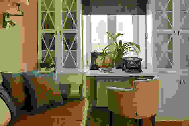 Квартира на Б.Ордынке: Рабочие кабинеты в . Автор – COUTURE INTERIORS,