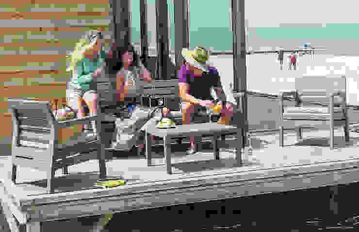 Delano Out & Out Original Balkon, Veranda & Terrasse im Landhausstil