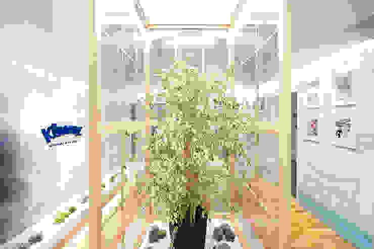 Kleenex <q>eco-Decor</q> Casa Decor 2014 Diseño de ferias de estilo mediterráneo de Egue y Seta Mediterráneo