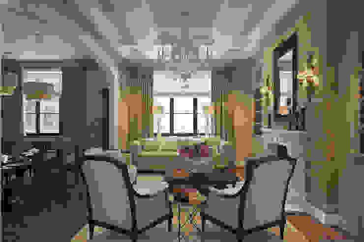 Квартира в классическом стиле Гостиная в классическом стиле от COUTURE INTERIORS Классический