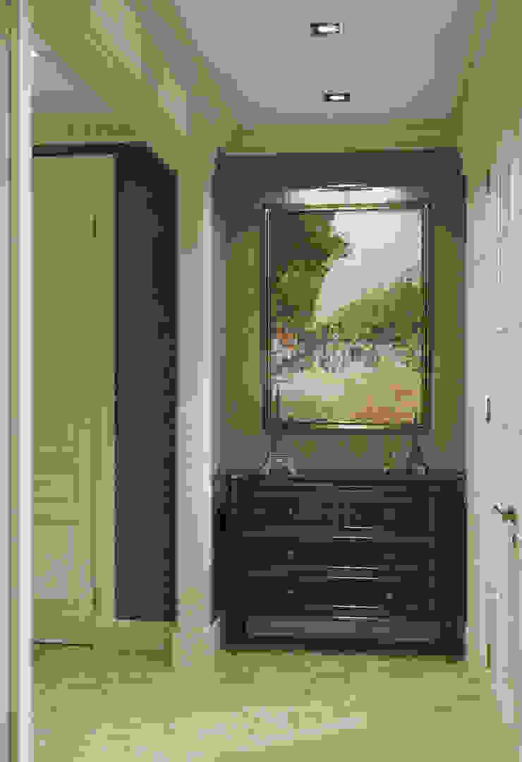 Квартира в классическом стиле Коридор, прихожая и лестница в классическом стиле от COUTURE INTERIORS Классический