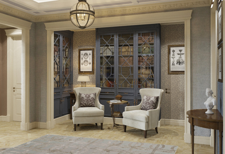 Квартира в классическом стиле Рабочий кабинет в классическом стиле от COUTURE INTERIORS Классический