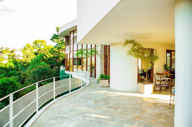Modern houses by Mascarenhas Arquitetos Associados Modern