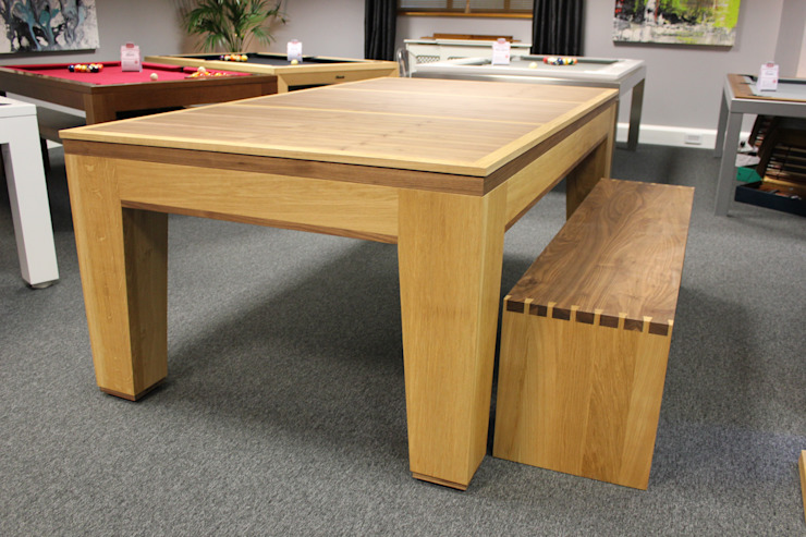 Spartan Pool/Dining Table: modern  by Designer Billiards, Modern