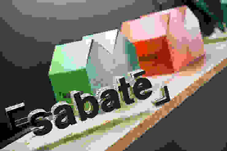 """""""Print Avenue"""". Espacio Casa Decor Barcelona 2012 para Sabaté Diseño de ferias de estilo clásico de Egue y Seta Clásico"""