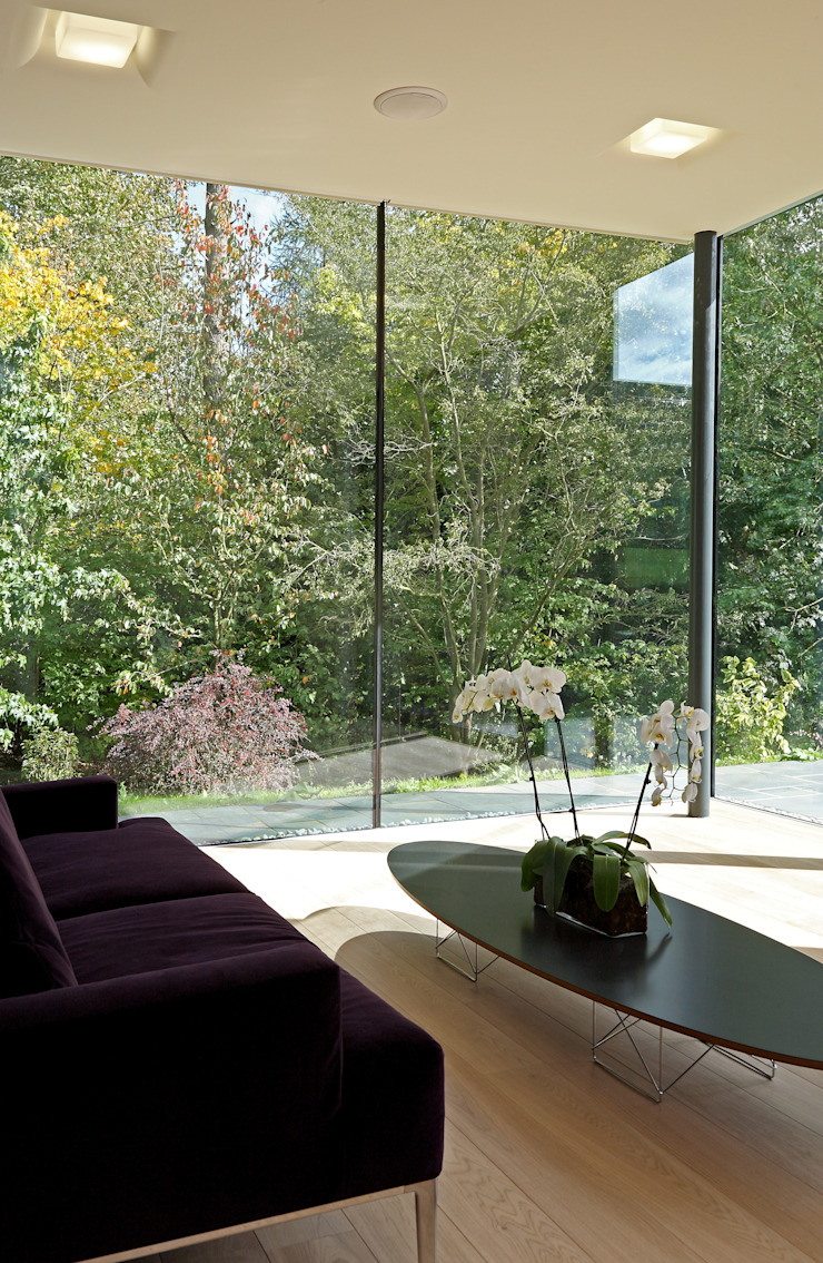 Stockgrove house Modern living room by Nicolas Tye Architects Modern