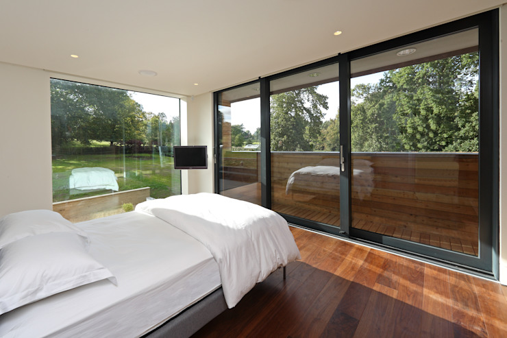 Stockgrove house Modern style bedroom by Nicolas Tye Architects Modern