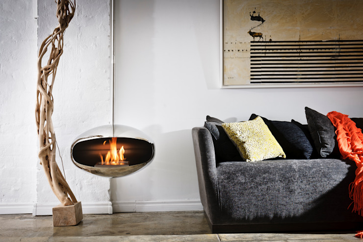 Cocoon Aeris Fireplace par Wharfside Furniture Moderne