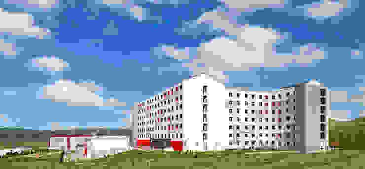 Hotel moderni di BOYTORUN ARCHITECTS Moderno