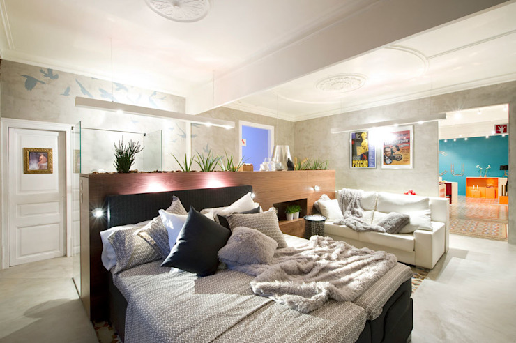 Suite Bates Motel. Espacio en CasaDecor Barcelona 2011 para Futurcret Hoteles de estilo clásico de Egue y Seta Clásico