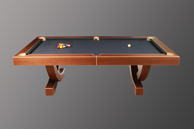 'The Arc', 8 ft American Pool Table. Designer Billiards Dining roomTables