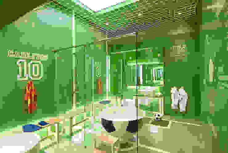 Juego Limpio F.C. Casa Decor Madrid 2010 para Futurcret Baños de estilo moderno de Egue y Seta Moderno