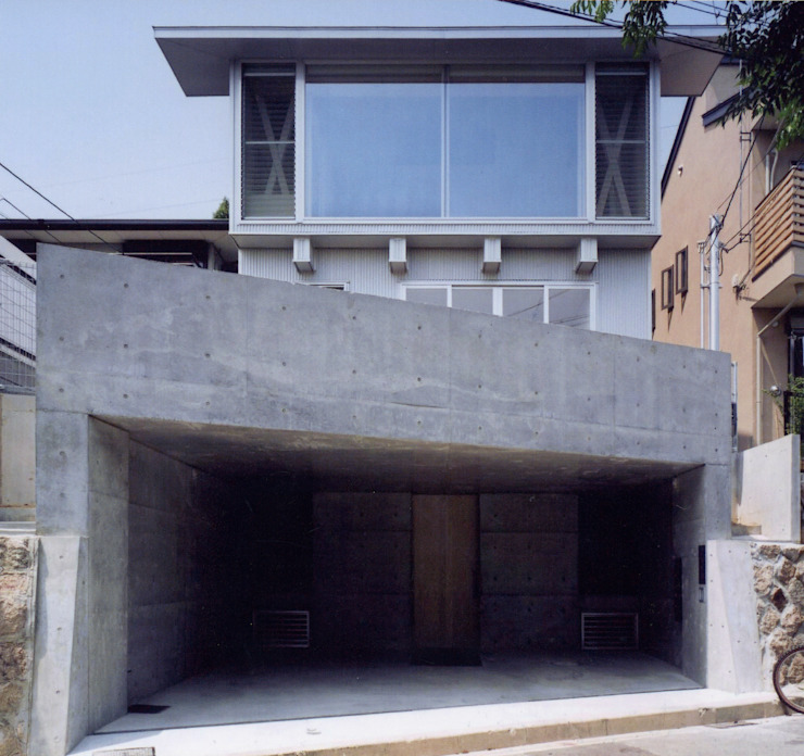 K&K-HOUSE 外観 モダンな 家 の M4建築設計室 モダン