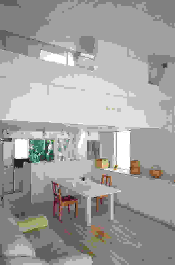 K&K-HOUSE 子世帯リビングダイニング ミニマルデザインの ダイニング の M4建築設計室 ミニマル