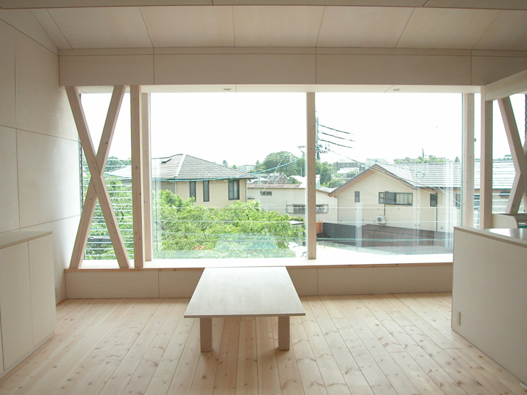 K&K-HOUSE リビング ミニマルデザインの リビング の M4建築設計室 ミニマル