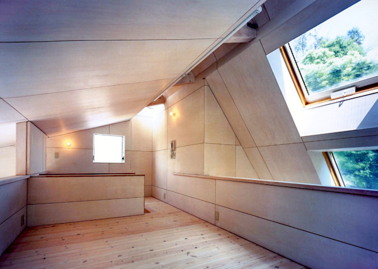 K&K-HOUSE ロフト ミニマルデザインの 多目的室 の M4建築設計室 ミニマル